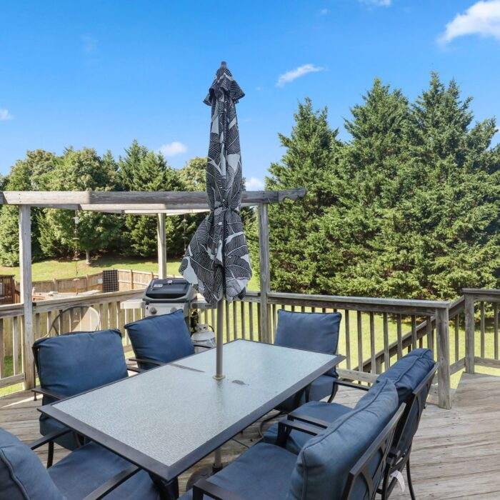 454 Deer Hill Circle, deck with view